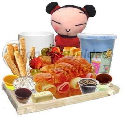 Desayuno en bandeja - Cod:ENC08