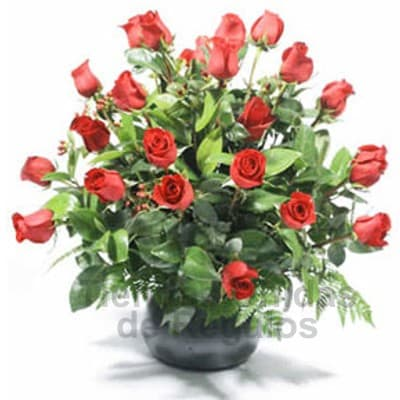 22 Rosas Importadas para Secretaria - Cod:SET08