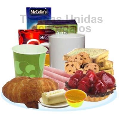 Desayuno por el dia la Secretaria | Desayunos para Secretarias | Desayunos de Regalos - Cod:SET15