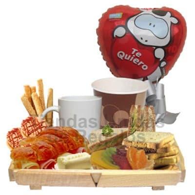 Desayuno para Dia del Asistente | Lonche para Secretaria | Lonche Delivery - Cod:SET17