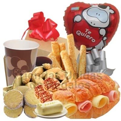 Desayuno para mi secretaria | Regalos para Secretarias | Lonche | Lonches Delivery - Cod:SET18
