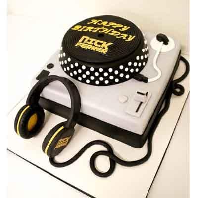 Torta de DJ | Torta DJ - Cod:SGG09
