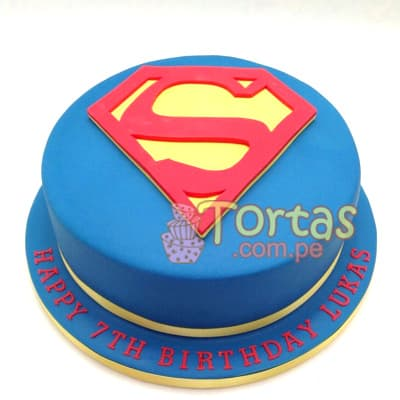 Torta Superman niño | Tortas de Superman - Whatsapp: 980-660044