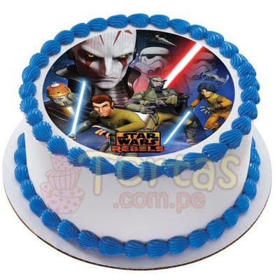 Torta StarWars - Whatsapp: 980-660044