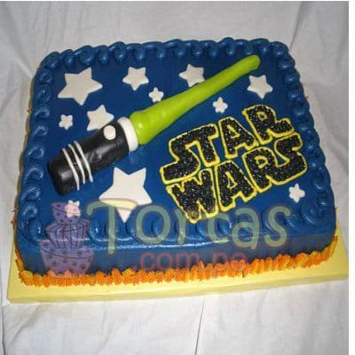 Torta De Star Wars - Whatsapp: 980-660044