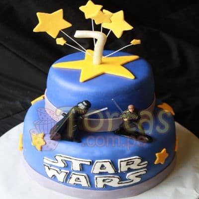 Tortas De Star Wars | Tortas Stars Wars - Cod:STW05