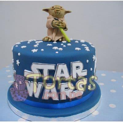 Torta Maestro Yoda | Tortas Stars Wars - Cod:STW06