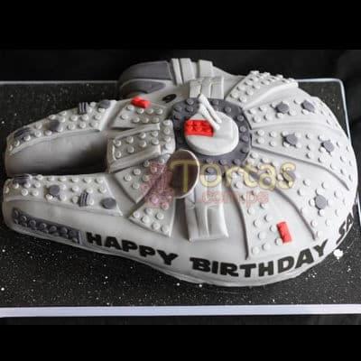 Torta Halcon Milenario  | Tortas Stars Wars - Cod:STW09