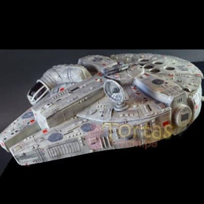 Torta del Halcon Milenario | Tortas Stars Wars - Whatsapp: 980-660044