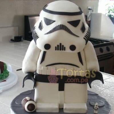 Torta de la Guerra de las Galaxias | Tortas Stars Wars - Cod:STW11