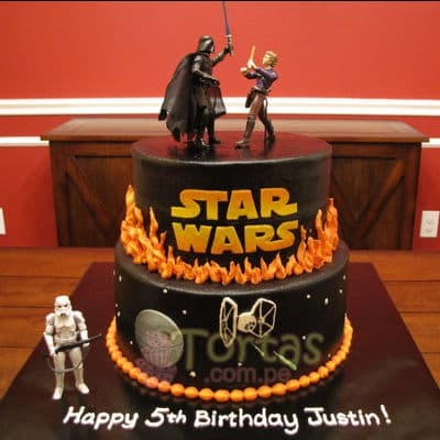 Torta SkyWalker | Tortas Stars Wars - Whatsapp: 980-660044