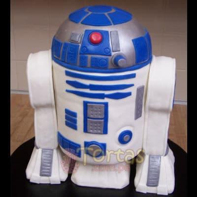 Torta R2D2 - Torta Arturito | Tortas Stars Wars - Cod:STW14