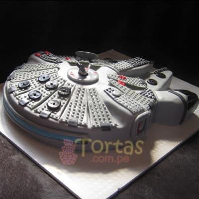 Torta Halcon Milenario 3 | Tortas Stars Wars - Cod:STW15