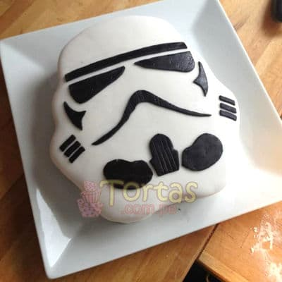 Torta Stormtrooper | Tortas Stars Wars - Cod:STW18