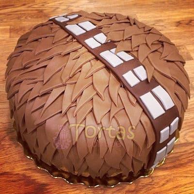 Torta de Chubaca Chewbacca - Cod:STW19