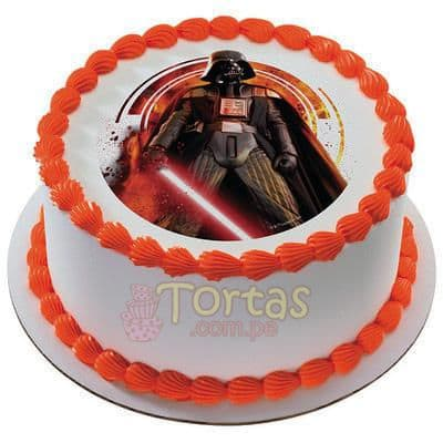 Torta Darth Vader | Tortas Stars Wars - Whatsapp: 980-660044