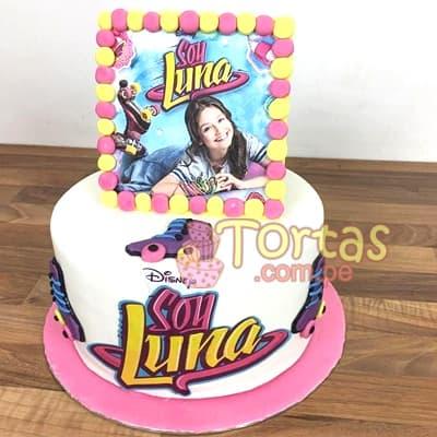 Torta Soy Luna con foto - Cod:SYL07