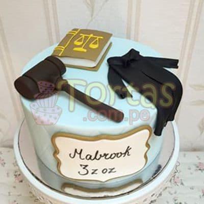 Torta para Abogado | Torta de Abogada - Cod:TAG04