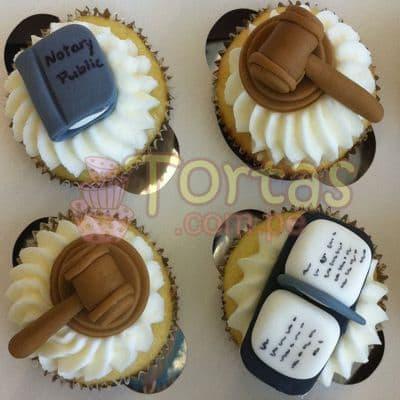 Cupcakes de Abogado | Tortas abogados - Cod:TAG05