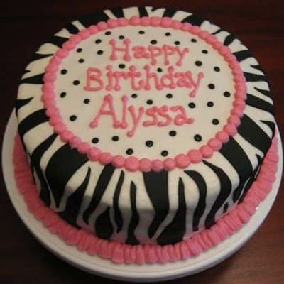 Torta con tema Animal Print - Whatsapp: 980-660044