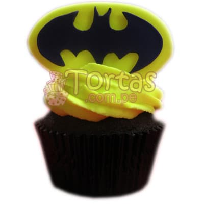 Muffin Batman 01 | Amazing batman cake | Pasteles de batman | Tortas batman - Cod:TBA01