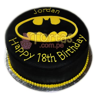 Torta BatMan 02 | Amazing batman cake | Pasteles de batman | Tortas batman - Whatsapp: 980-660044