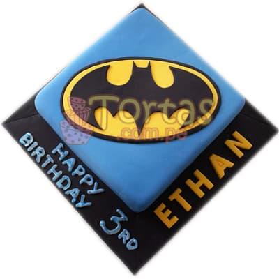 Torta Cuadrada Batman 06 - Cod:TBA06
