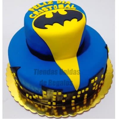 Torta Batman 07 | Amazing batman cake | Pasteles de batman | Tortas batman - Whatsapp: 980-660044