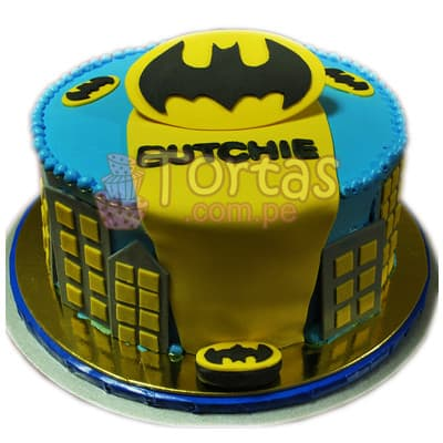Torta Batman 09 - Cod:TBA09