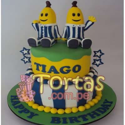 Torta Bananas en Pijamas- Whatsapp: 980-660044