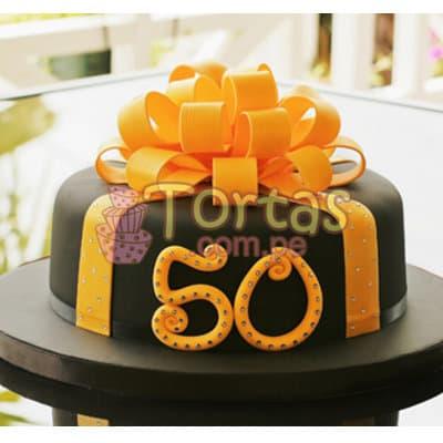 Torta para 50 años | Tortas Bodas De Oro - Whatsapp: 980-660044