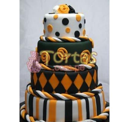 Torta 25 años | Tortas Bodas De Plata - Whatsapp: 980-660044