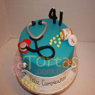 Torta de Doctor - Whatsapp: 980-660044