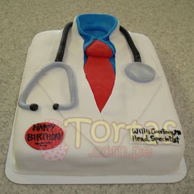 Torta de Medico - Cod:TDC06