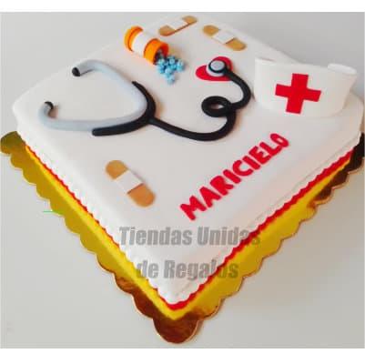 Torta Enfermera Especial | Torta para medico | Tortas |  Pastel de doctor - Whatsapp: 980-660044