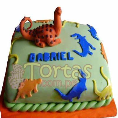 Torta de Dinosaurio - Cod:TDN01