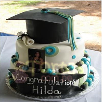 Torta de Graduacion Universidad - Whatsapp: 980-660044