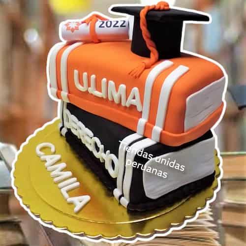 Torta de Graduacion hombre | Torta de graduacion - Cod:TGR04