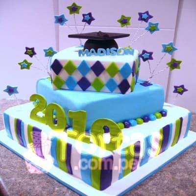 Torta de Graduacion Derecho - Cod:TGR07