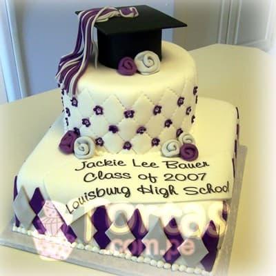 Torta de Graduacion Inicial | Tortas Infantiles | Pastel de Graduación - Cod:TGR09