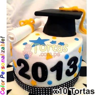 Tortas para Graduacion Promocion | Tortas para Graduacion | Torta Grado - Whatsapp: 980-660044