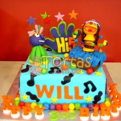 Torta Hi5 | Delivery de de tortas en Lima | Envío de tortas en Lima Perú - Cod:THI01