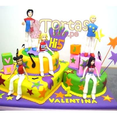 Torta Hi5 Especial - Cod:THI09