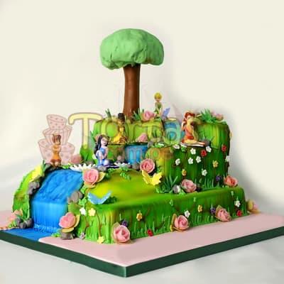 Torta Tinkerbell | torta tinkerbell campanita - Cod:TKB01