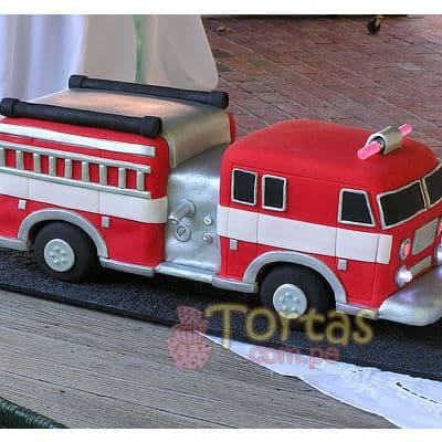 Torta bombero Gigante - Cod:TMB08