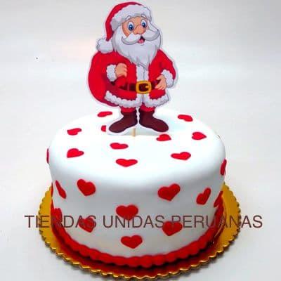 Tortas Navideñas | Torta de Navidad | Torta Papa Noel - Cod:TNA06
