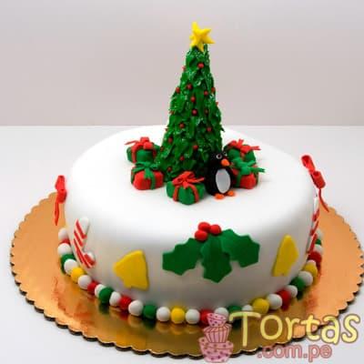 Torta de Navidad | Arbolito de Navidad Torta | Regalos de Navidad para sorprender - Cod:TNA08