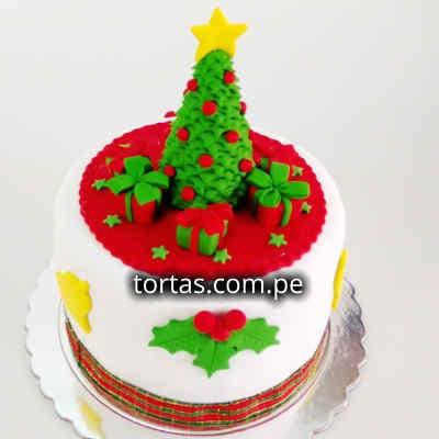 Torta de Navidad | Arbol de Navidad | Regalos de Navidad para sorprender - Cod:TNA10