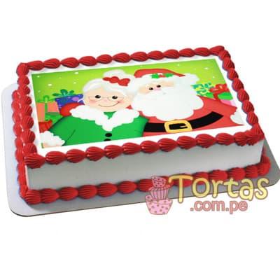 Foto Torta de Navidad | Regalos de Navidad para sorprender - Cod:TNA11