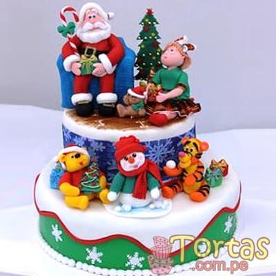 Torta de Navidad de Papa Noel | Regalos de Navidad para sorprender - Cod:TNA16